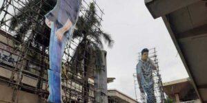 ಚಿತ್ರಮಂದಿರಗಳು ರೀ ಓಪನ್ ಗೆ ಸಜ್ಜಾಗುವುದರೊಂದಿಗೆ ಕಟೌಟ್ ಕಲಾವಿದರಲ್ಲಿ ಹೊಸ ಭರವಸೆ